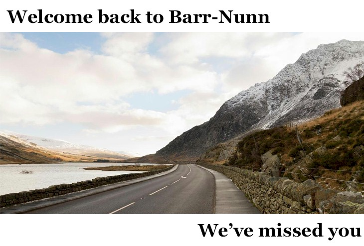 Barr-Nunn Welcome Back Image